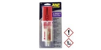 ZAP Z-Poxy 5-Min 2K-Kleber QuickShot Spritze  28gr