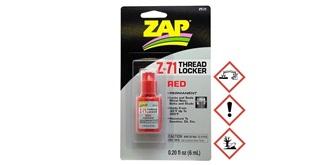 ZAP Z-71 red SchraubenSicherung fest  5.7g