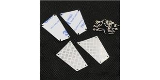 TRX-4 Stainless Steel Rear Diamond Side Plate