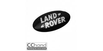 Grill Logo 3D Land Rover 10mm schwarz