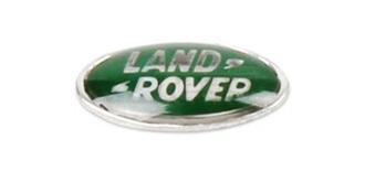 Grill Logo 3D Land Rover 10mm grün