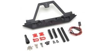 TRX-4 Rear Bumper Hook + LED ALU
