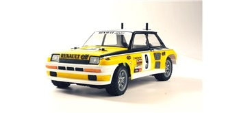 KarMini TAMIYA Renault 5 Turbo  unlackiert