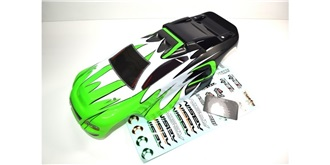 Karosserie Absima Truggy AT2.4 grün/schw