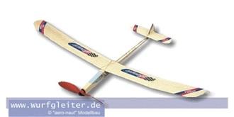 Freiflug Boogie 950mm mit Gummimotor Kit Holz