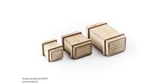 Holzkiste Bausatz 3grössen