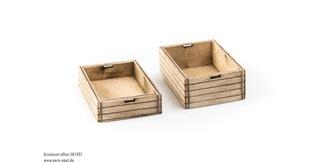 Holzkiste Bausatz 2St. 50x32x18mm 50x32x12mm
