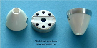 Spinner 2,3 /32mm Turbo, benötigt Mittelteil 724..