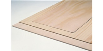 Buchensperrholz  2,0mm  3-fach 30x30cm
