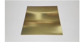 Messingblech 0,8mm 200x200mm 1St