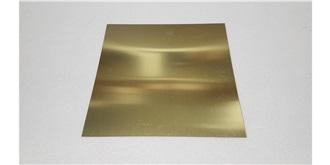 Messingblech 1,0mm 200x200mm 1St