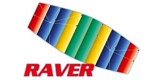 Sportlenk Drachen Parafoil Raver 100cm