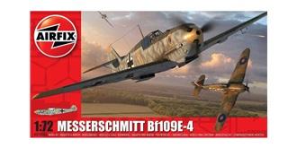 AIRFIX Bf109E-4 Messerschmitt 1:72 Kit Plastik