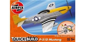 AIRFIX QuickBuild Mustang P-51D