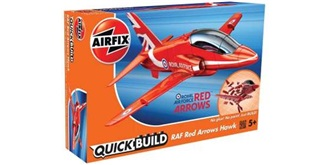 AIRFIX QuickBuild Hawk Red Arrows