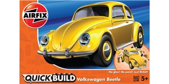 AIRFIX QuickBuild VW Käfer gelb