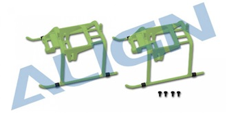 TRex150 Landekufen grün 2St