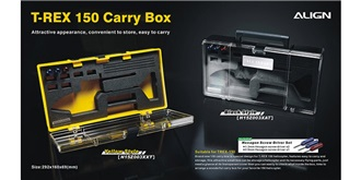 TRex150 Koffer gelb