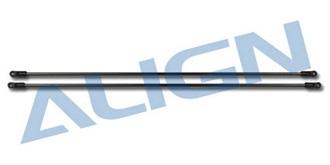 TRex250 Heckrohr Verstrebung