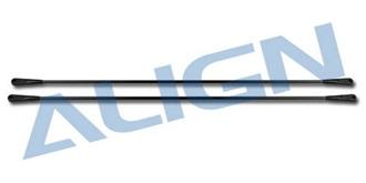 TRex450 Heckrohr Stützen
