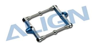 TRex450Sport Flybar Control Frame ALU blau