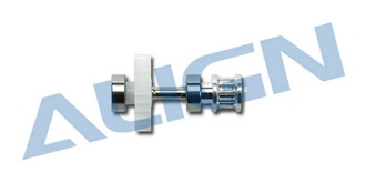 TRex450Sport Zahnriemen-Getriebe Chassis ALU