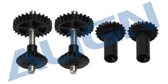 TRex450Pro Starantrieb Getriebe vorn