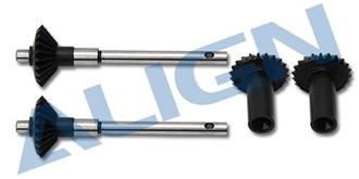 TRex450Pro Starantrieb Getriebe heck