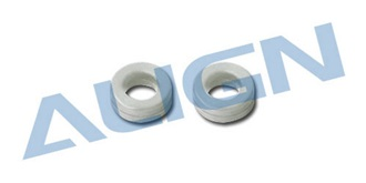 TRex500 Dämpfergummi grau (weich)