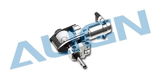 TRex500Pro Heckgehäuse Starantrieb ALU