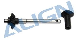TRex500Pro Starantrieb Getriebe heck
