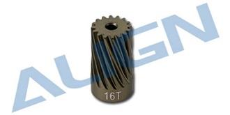 TRex600 Ritzel Motor ESP schräg 16T