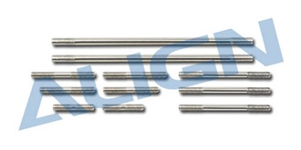 TRex600Pro Anlenkungsgestänge Set