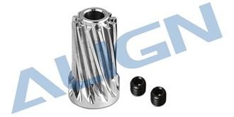 Motor Slant Thread Pinion Gear 12T (L27)