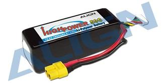 Accu LiPo Align 1850-6S (22,2V) 50C XT60