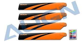TRex150 Main Blades(Orange)