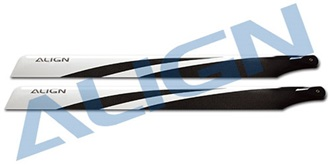 TRex450 Rotorblatt ALIGN 325 Carbon ..