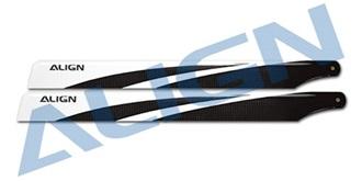 TRex450 Rotorblatt ALIGN 360 3G Carbon Blades