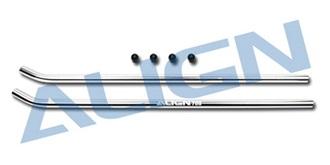 TRex700 Kufen ALU silber 2St