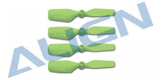 TRex150 Heckrotorblatt grün 4St