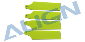 74 Tail Blade-Fluorescence Yellow