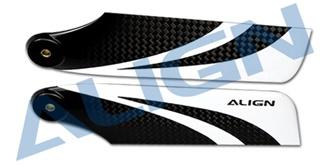 115 Carbon Fiber Tail Blade  (T-Rex 800)