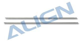 TRex450 Stabistange 220 chrom  2St