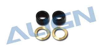 TRex450 Dämpfergummi schwarz 80