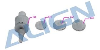 TRex150 Servogetriebe DS150/155
