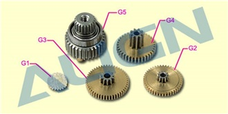 Servo-Getriebe ALIGN DS410M