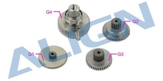 DS820 Servo Gear Set