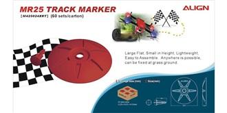 FPV Teller Streckenmarkierung rot d=15cm 60St