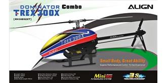 RC Heli Align T-REX 300X Combo