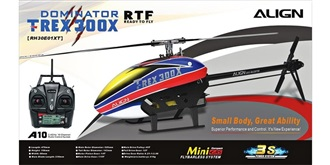 RC Heli Align T-REX 300X SuperCombo RTF